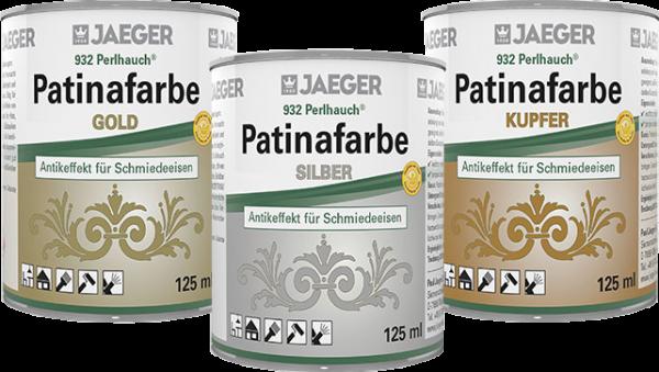 Jaeger Perlhauch Patinafarbe