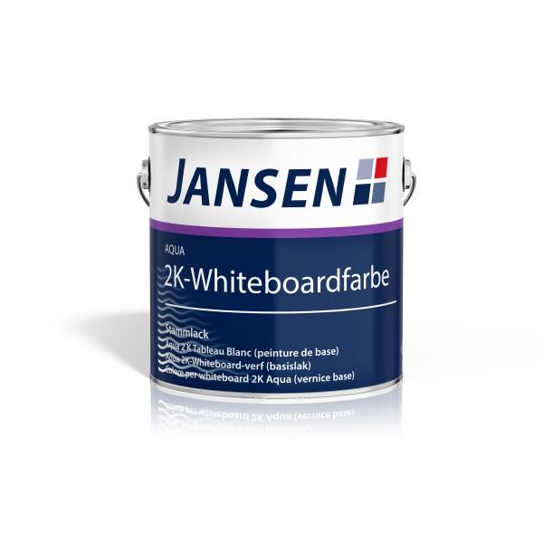 Jansen Aqua 2K-Whiteboardfarbe (1,96 kg) inkl. Härter (400g)