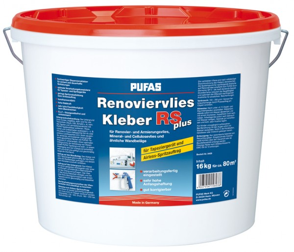 PUFAS Renoviervlies-Kleber RS plus