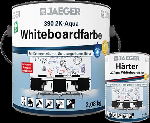 Jaeger 2K-Aqua Whiteboardfarbe