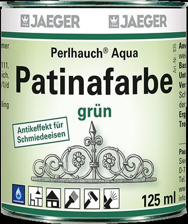 Jaeger Perlhauch® Aqua-Patinafarbe grün