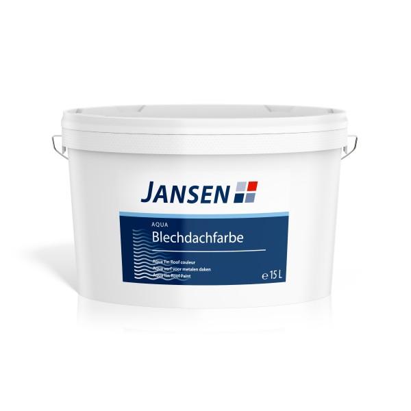 Jansen Aqua Blechdachfarbe 15l