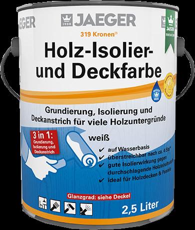 Jaeger Kronen® Holz-Isolier- und Deckfarbe