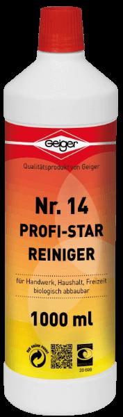 Geiger Profi-Star Reiniger