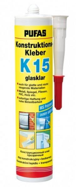 Konstruktionskleber K15 glasklar