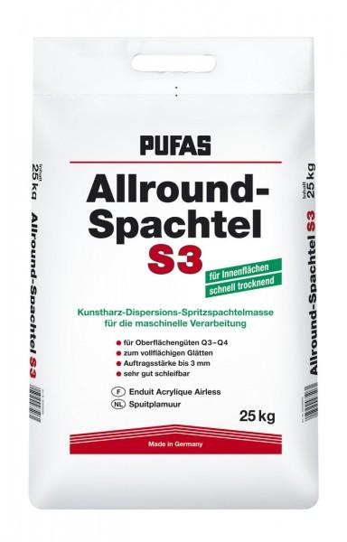 PUFAS Allround-Spachtel S3