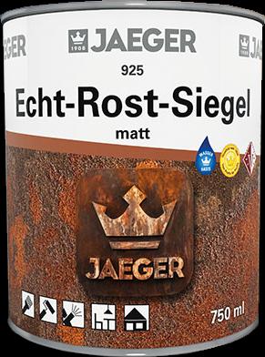 Jaeger Echt - Rost Siegel farblos