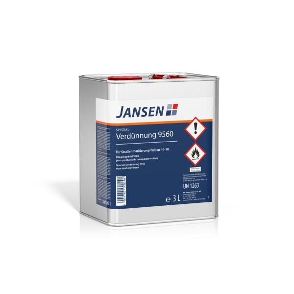Jansen Spezialverdünnung für Straßenmarkierungsfarbe 3l
