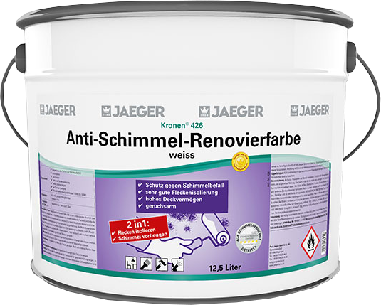 Jaeger Kronen® Anti-Schimmel-Renovierfarbe