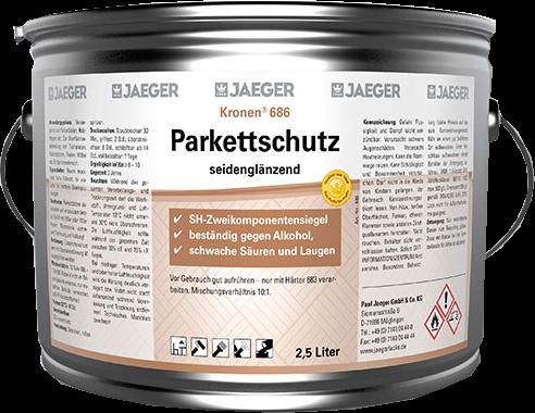 Jaeger Kronen® Parkettschutz seidenglänzend