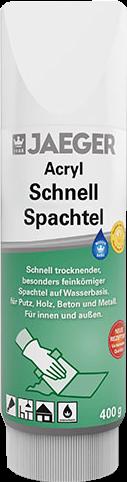 Jaeger Acryl Schnellspachtel (Tube)