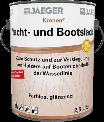 Jaeger Kronen® Yacht- und Bootslack farblos