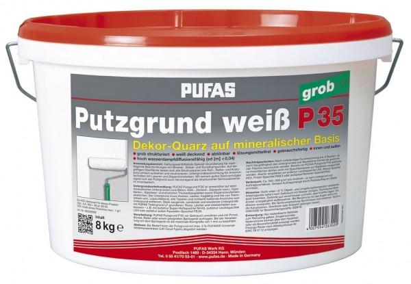 PUFAS Putzgrund weiß P 35 grob