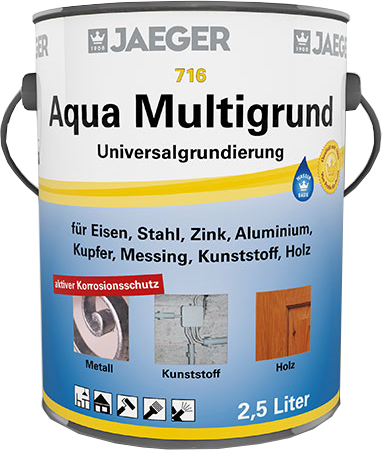 Jaeger Aqua Multigrund weiß