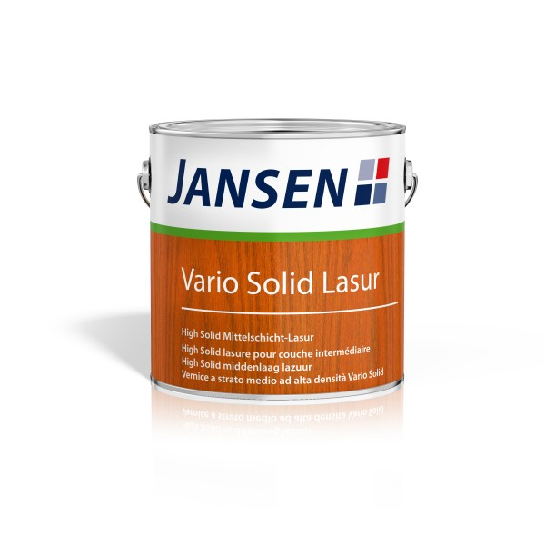 Jansen Vario Solid Holzlasur Holzschutz