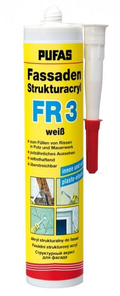 Pufas Fassaden Strukturacryl FR 3 310 ml