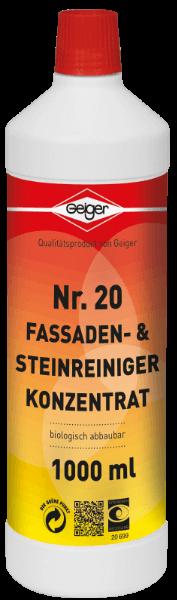 Geiger Fassaden- & Steinreiniger Konzentrat