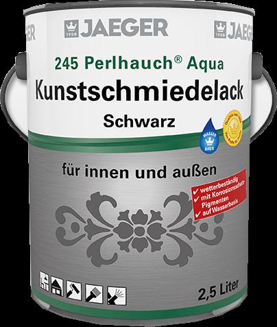 Jaeger Perlhauch® Aqua-Kunstschmiedelack mattschwarz