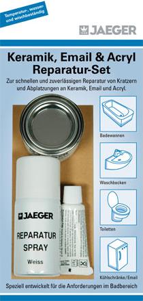 Jaeger Keramik und Emaille Reparatur Set