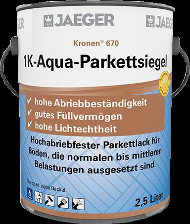 Jaeger Kronen® 1 K-Aqua-Parkettsiegel