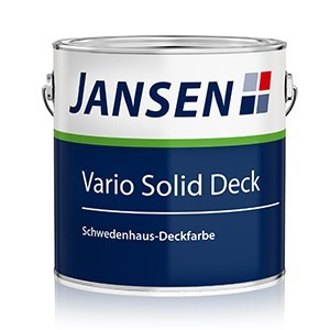 Jansen Vario Solid Deck Schwedenhaus Deckfarbe