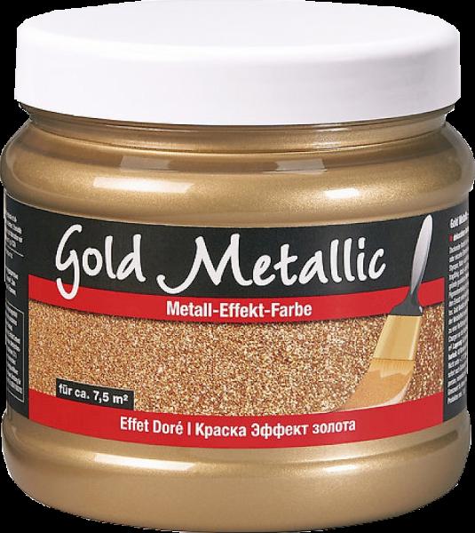 Pufas Effect Gold-Metallic Metall-Effekt-Farbe 1,5l