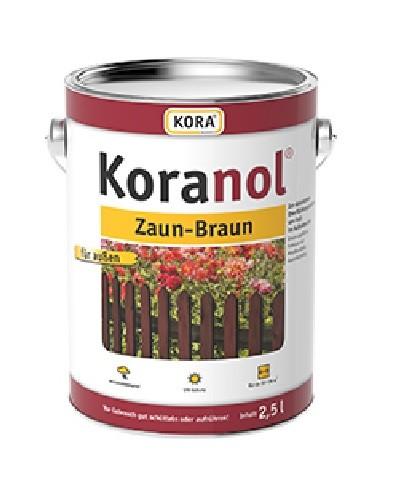 Koranol Zaun Braun