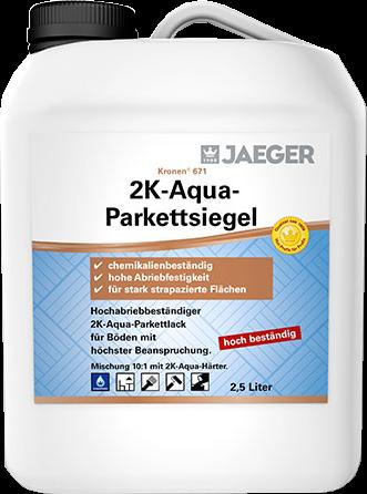 Jaeger Kronen® 2 K-Aqua-Parkettsiegel