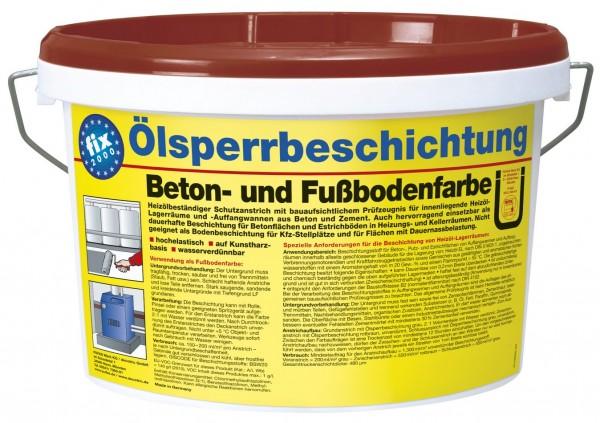 PUFAS fix 2000 Ölsperrbeschichtung Beton- und Fußbodenfarbe
